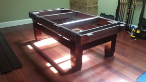 Correctly performing pool table installations, Bloomington Indiana