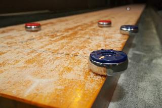 SOLO® Shuffleboard Movers Bloomington, Indiana.